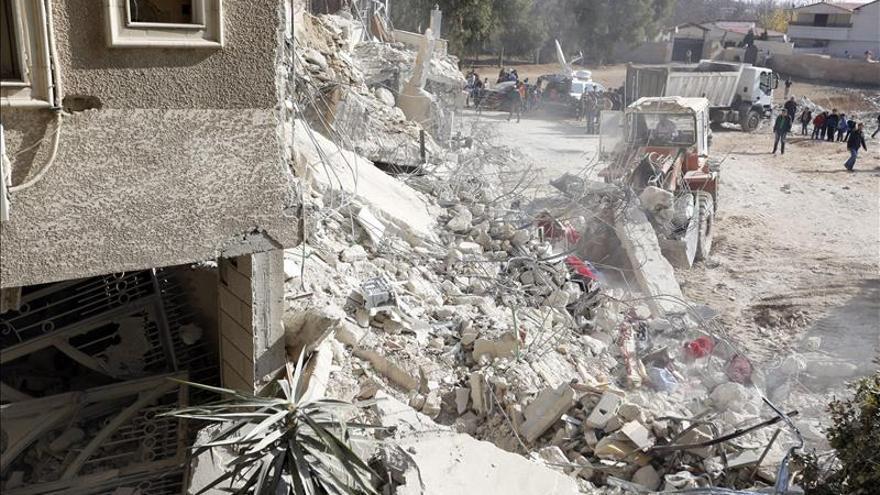 Israel bombardea zonas del sur del Líbano tras el lanzamiento de tres cohetes