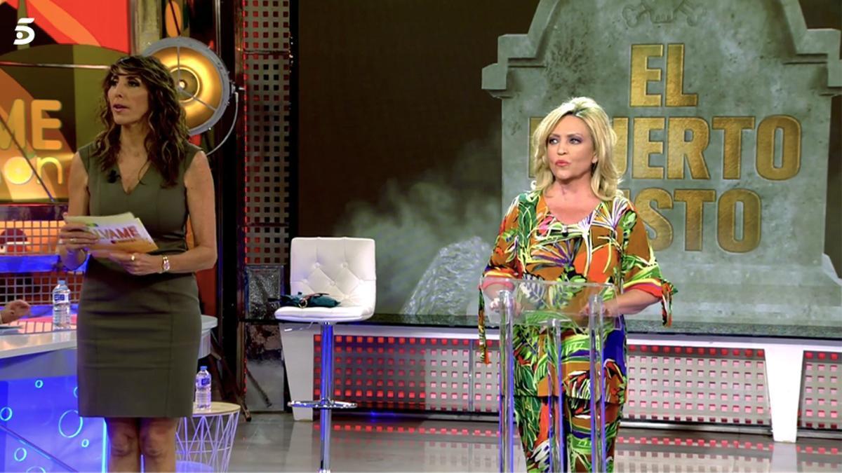 Paz Padilla y Lydia Lozano en 'Sálvame'