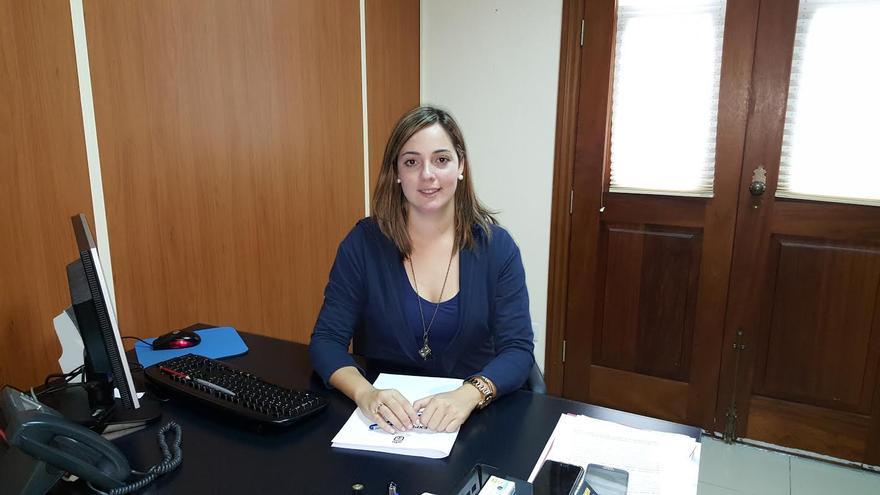 María Rodríguez Acosta, concejal de Tesorería y Hacienda del Ayuntamiento de Tijarafe.