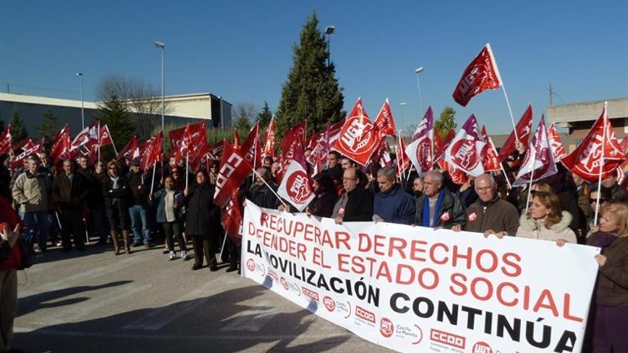 Movilizaciones (imagen de archivo)