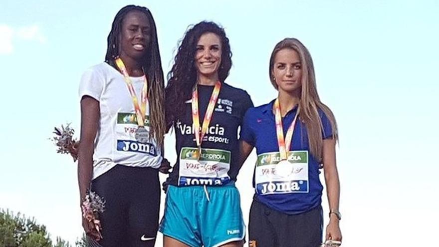 La granadina Laura Bueno (Valencia Esports) sigue siendo el referente nacional en los 400m