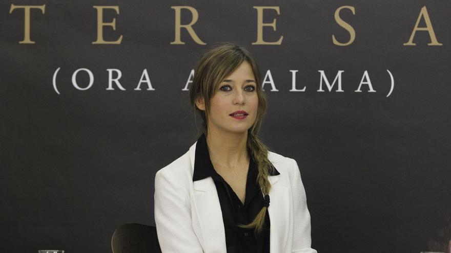 Marta Etura, este viernes en Pamplona con el espectáculo de danza 'Teresa (ora al alma)'