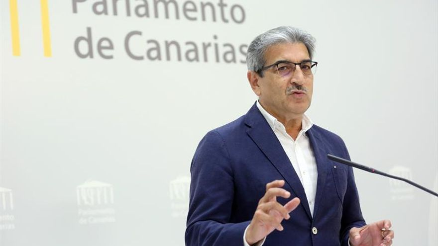 El presidente de Nueva Canaria, Román Rodríguez.