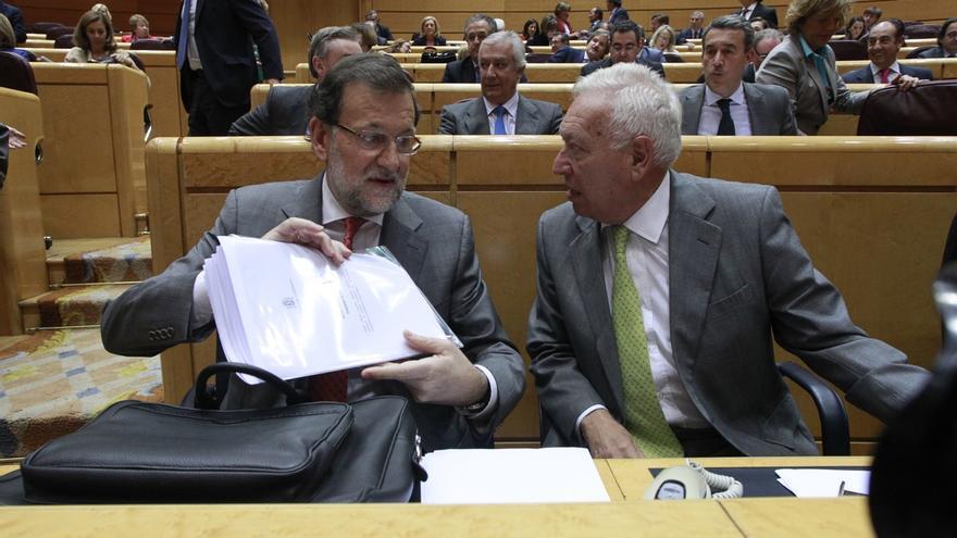 Rajoy volverá el martes al Senado un mes después de pedir perdón desde ese hemiciclo por la corrupción