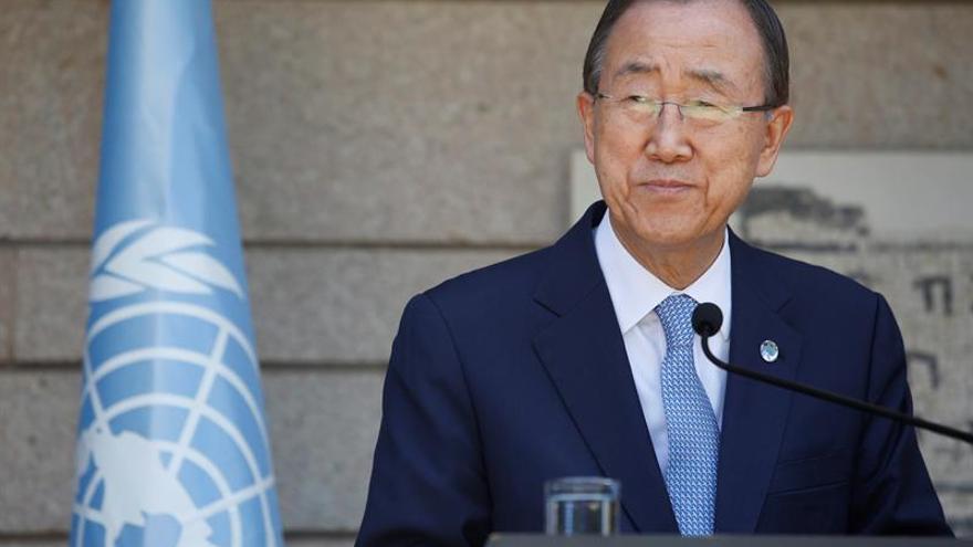 Ban Ki-moon pide intensificar los esfuerzos para combatir el terrorismo