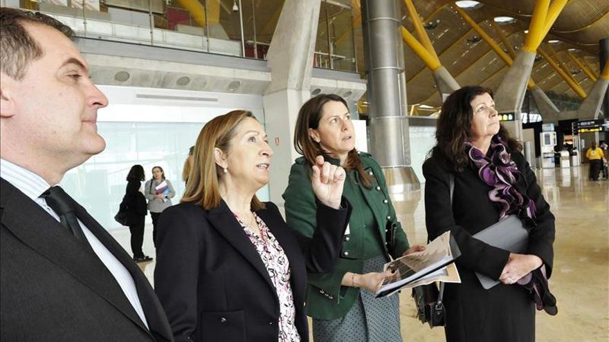 La ministra Ana Pastor no logra sacar adelante la venta de la red de aeropuertos.