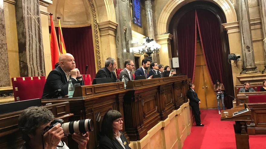 Torrent no convocará pleno hasta que no haya un pacto sobre las suspensiones que garantice las mayorías parlamentarias