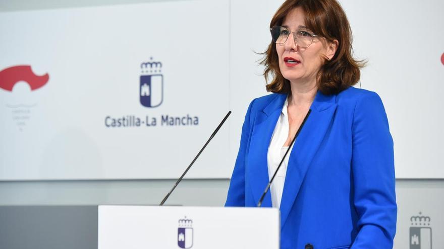 La consejera portavoz de Castilla-La Mancha, Blanca Fernández