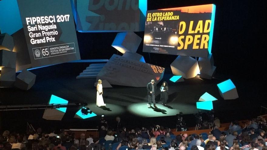 La reivindicación de la mujer cineasta y de la humanidad en Europa centran la gala inaugural del festival
