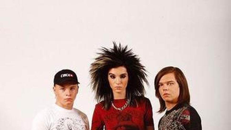 Tokio Hotel irrumpe en las listas españolas