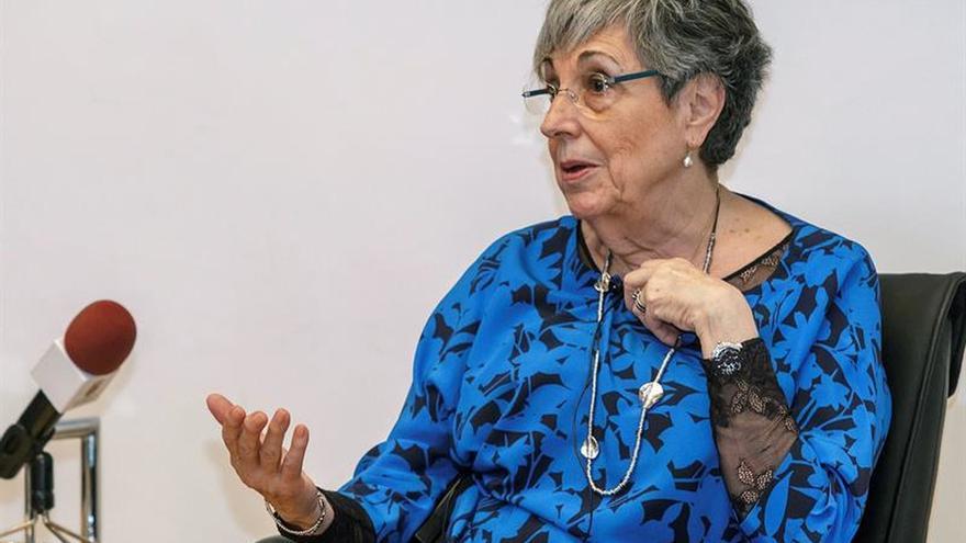 La vicepresidenta del Tribunal Constitucional, Encarnación Roca