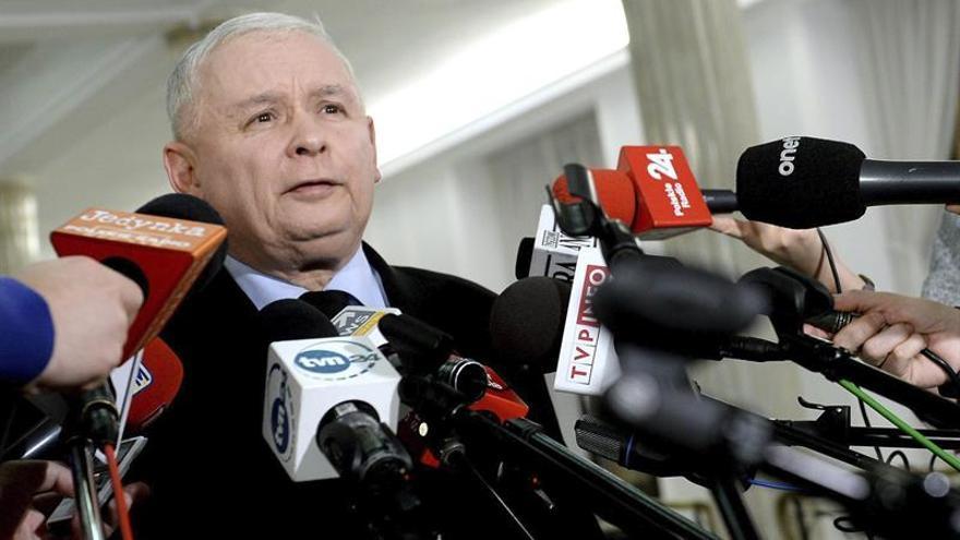 Kaczynski confirma que Polonia no apoyará la reelección de Tusk al frente del Consejo Europeo