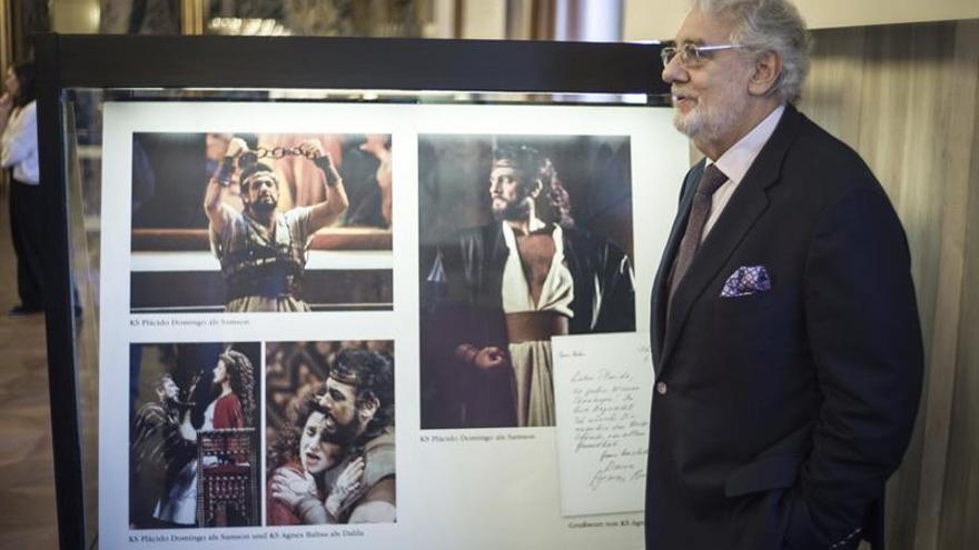 Ópera de Viena rinde homenaje a Plácido Domingo por sus 50 años de su debut