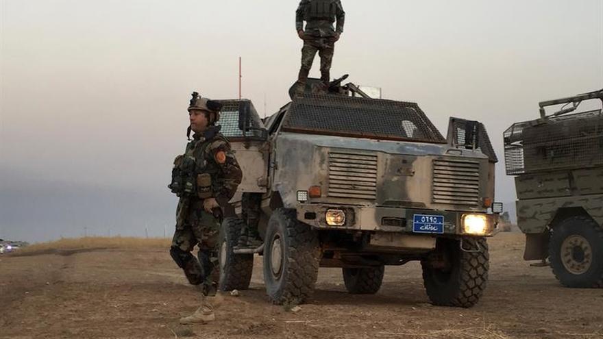 Irak controla dos zonas en Kirkuk tras la retirada kurda en una escalada de tensión