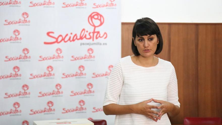 """La candidata a la secretaria general del PSOE murciano llama a un proyecto """"integrador y unido"""" frene al PP"""