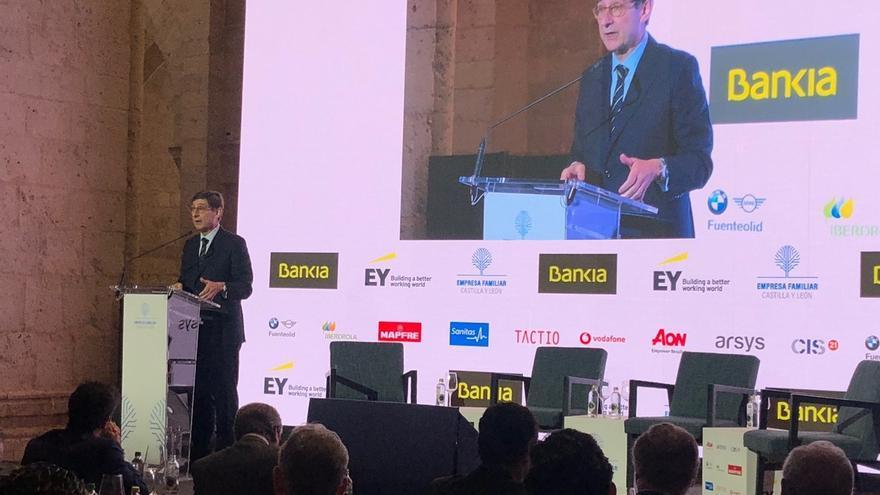 Goirigolzarri cree que no es el momento para privatizar Bankia y aboga por esperar a un entorno más favorable