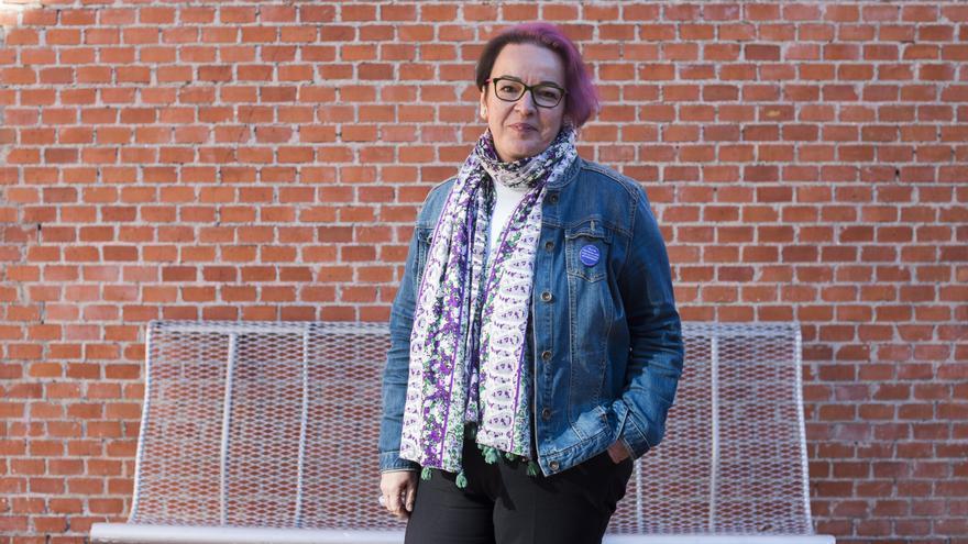 La directora del Instituto de la Mujer, Silvia Buavent. FOTO: FERNANDO SÁNCHEZ