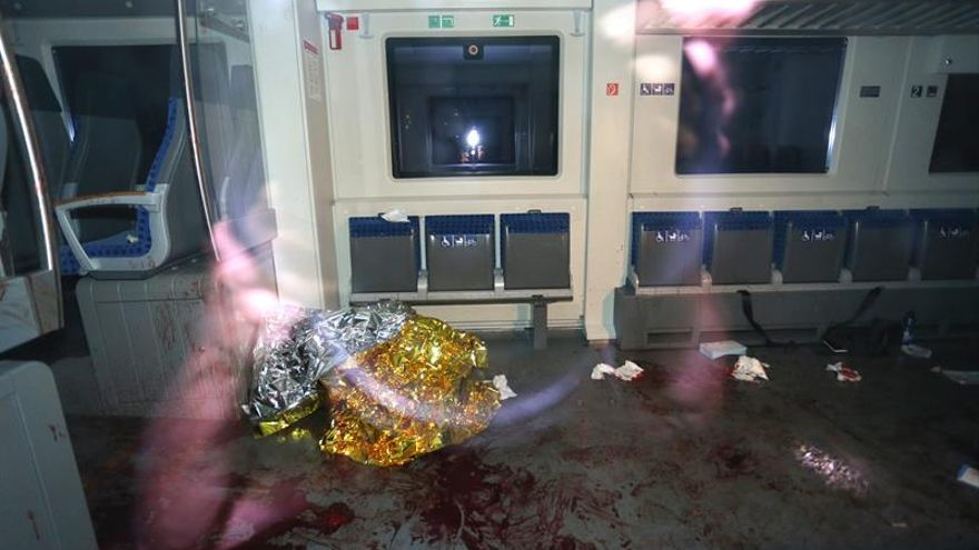 Identificado el atacante del tren alemán como un afgano de 17 años