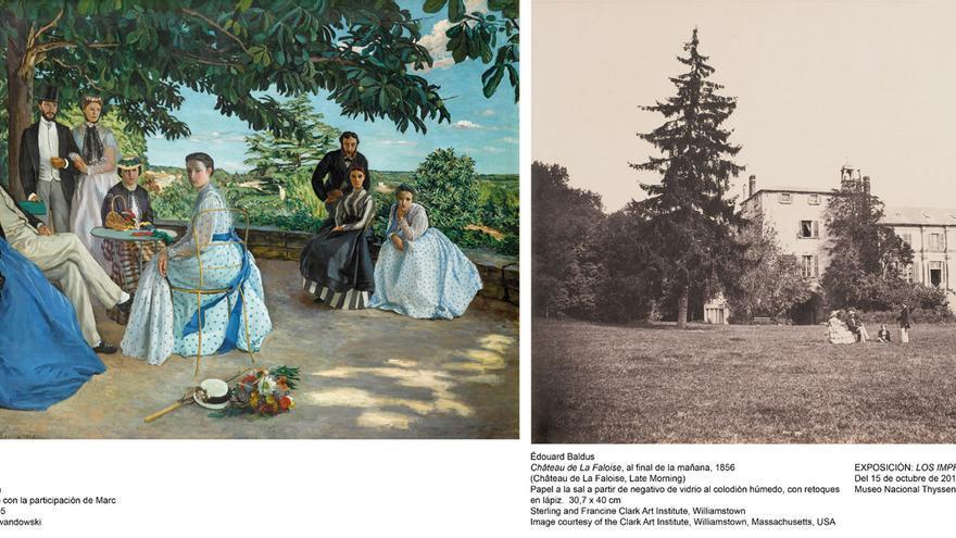 Impresionistas y fotografía