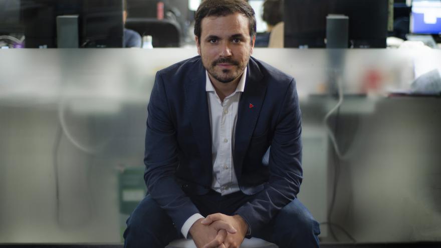 Alberto Garzón, coordinador federal de Izquierda Unida y diputado de Unidas Podemos en el Congreso
