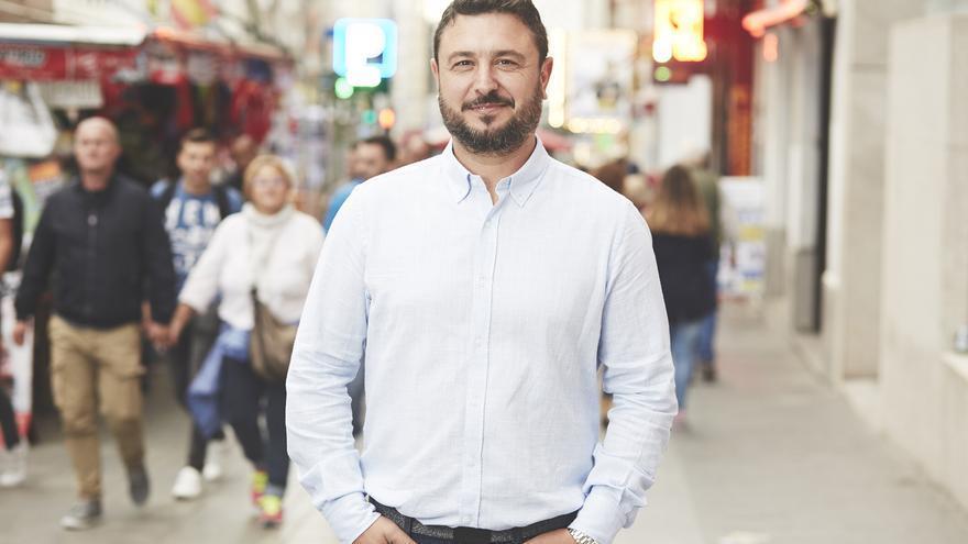 El periodista Juan Miguel Baquero. | PATRICIA J. GARCINUÑO