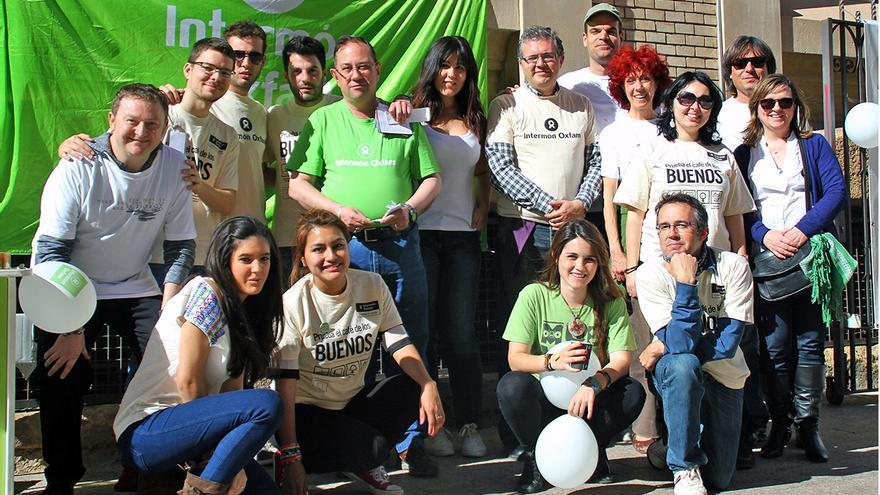 Comité de Oxfam Intermón en la ciudad de Murcia