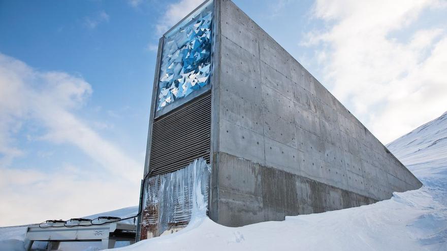 La Bóveda Global de Semillas, situada en el archipiélago noruego de Svalbard