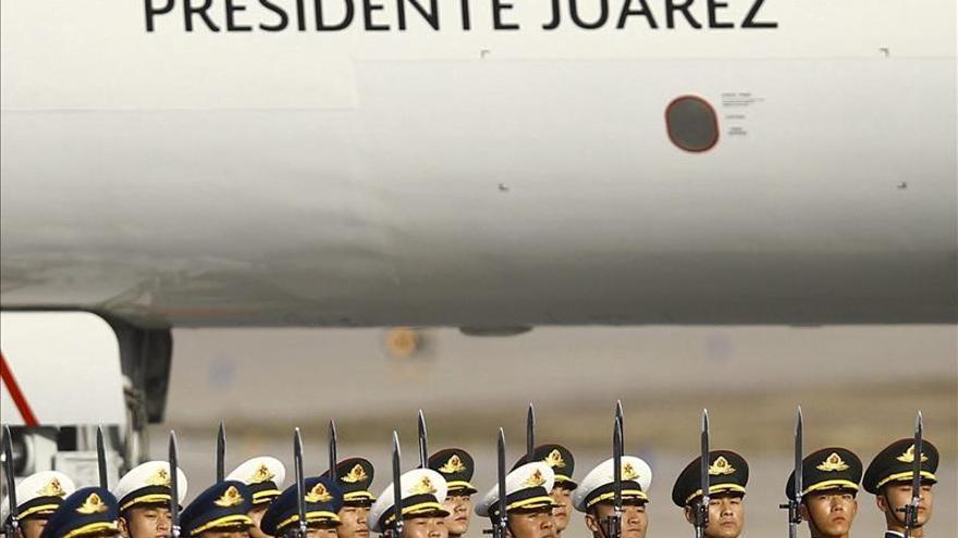 Peña Nieto llega a China para asistir a la cumbre de líderes Asia-Pacífico