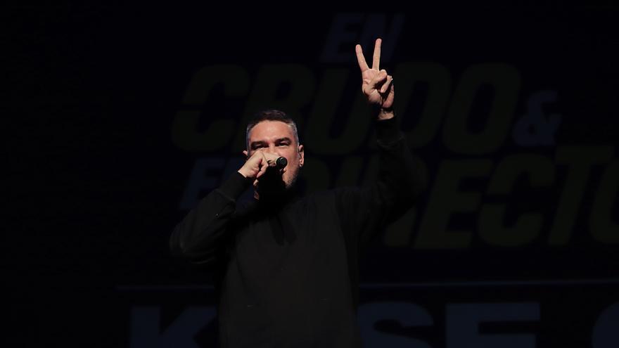 Kase O en Crudo y EN directo en Carne Cruda - Álvaro Vega