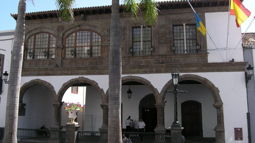 Fachada del Ayuntamiento de la capital.
