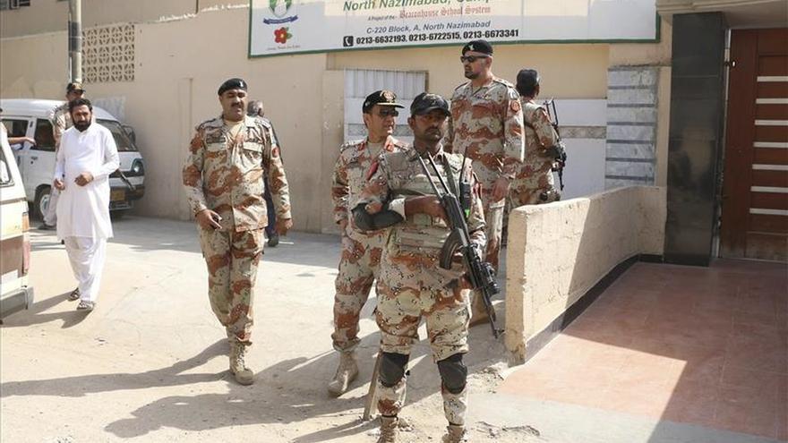 El Ejército paquistaní detuvo a 12.000 insurgentes desde 2013 en Karachi