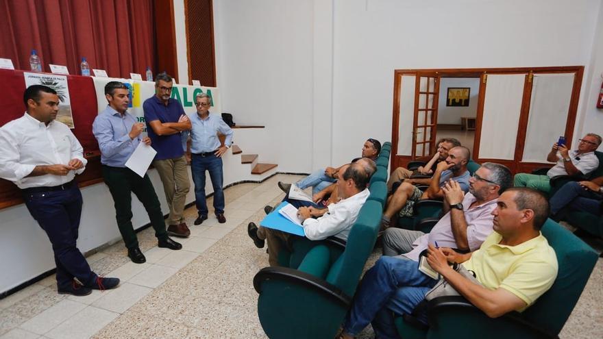 Debate celebrado en Haría este viernes, en la isla de Lanzarote, con la coorganización de Palca