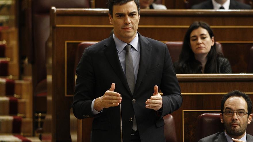 """Sánchez afeará a Rajoy su """"desconexión"""" con la calle y llevará al Congreso """"la realidad de los hogares"""""""