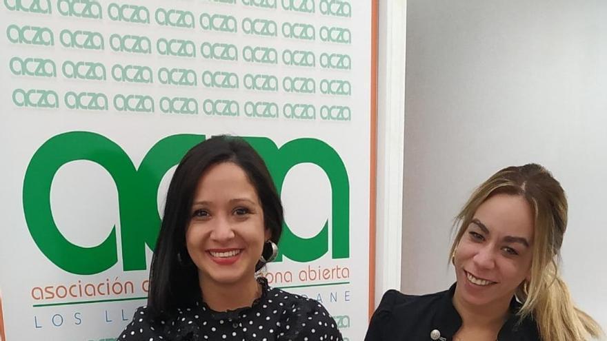 Representantes de la Asociación de Comerciantes Zona Abierta (ACZA) de Los Llanos de Aridane.