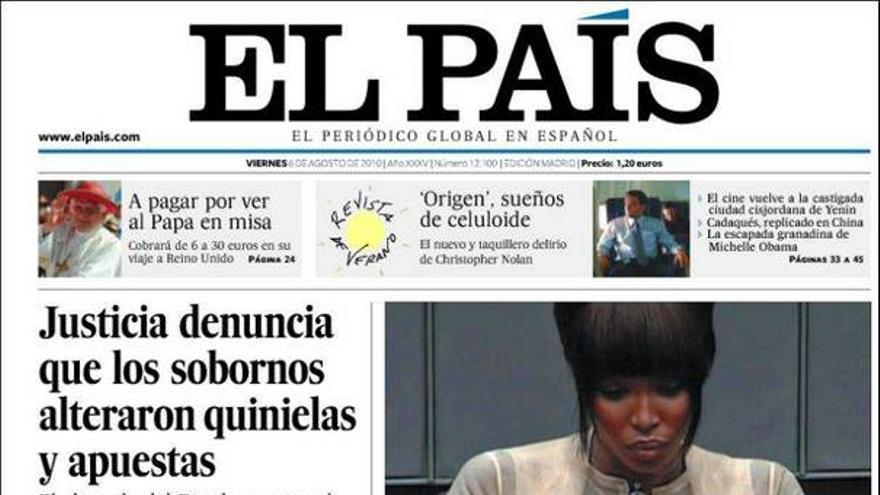 De las portadas del día (06/08/2010) #1