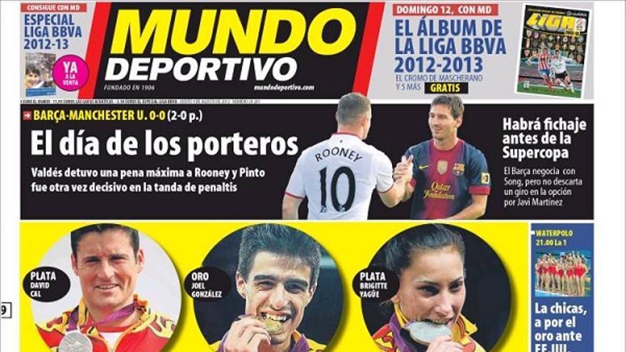 De las portadas del día (09/08/2012) #11