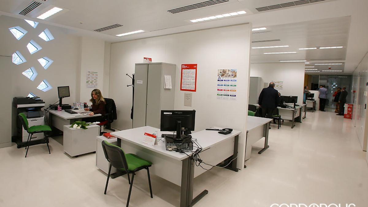 Interior de los juzgados de Córdoba