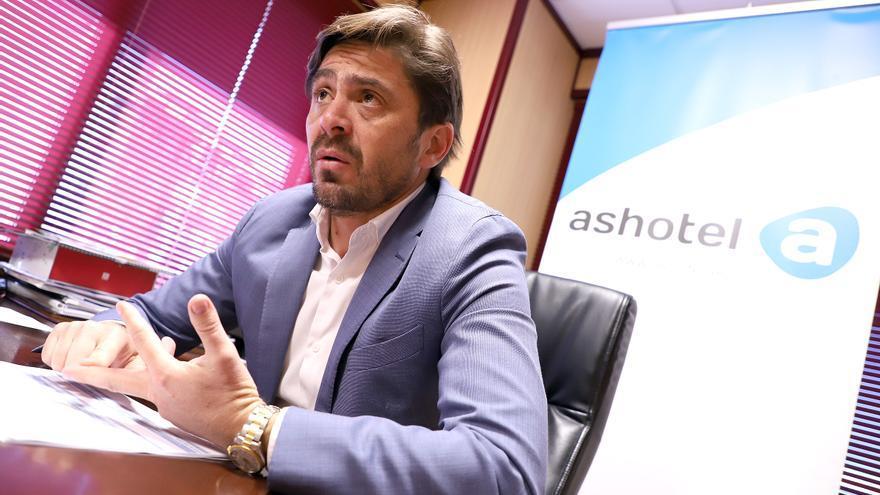 Jorge Marichal, presidente de Ashotel, durante la entrevista realizada el miércoles pasado