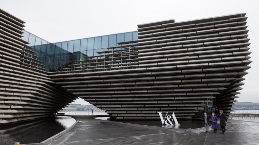 El museo V&A de Dundee, ante el reto de convertirse en un referente cultural