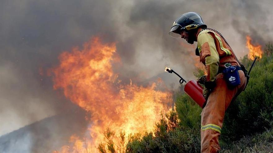 Asturias reduce a 21 los incendios forestales