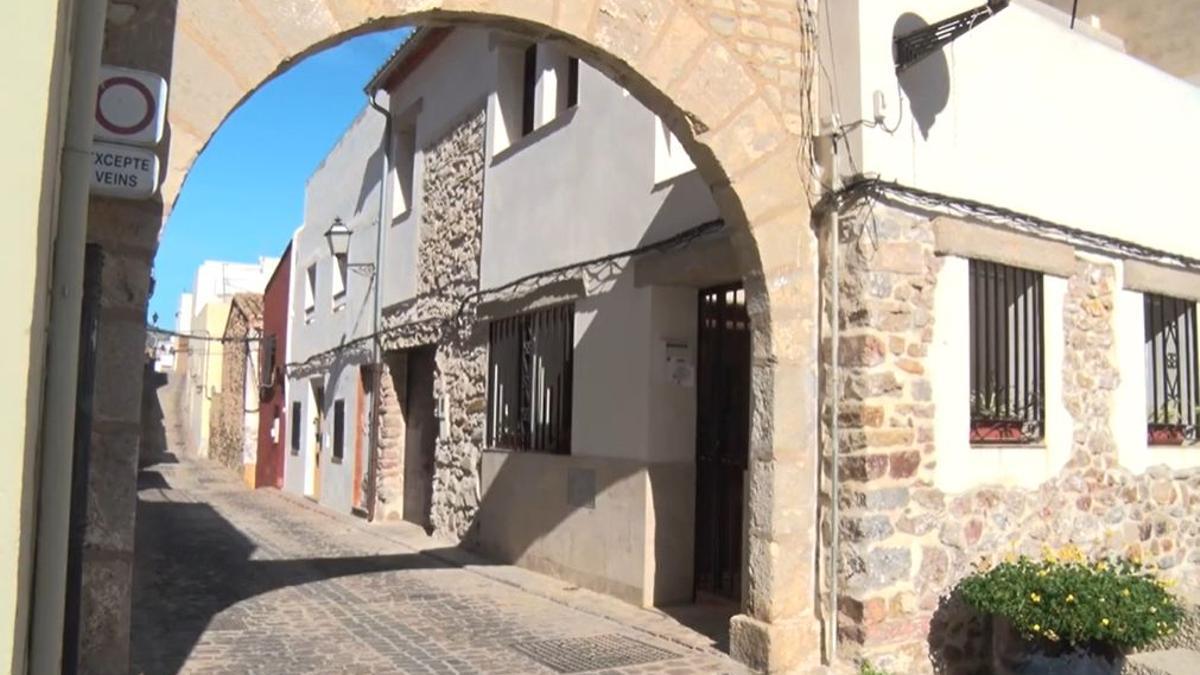 La puerta de la Sangre, el acceso a la antigua Judería de Sagunto.