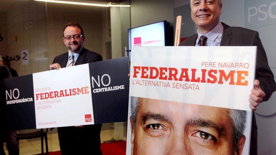 """El PSC resume su """"tercera vía"""" en el lema de campaña """"federalismo"""""""