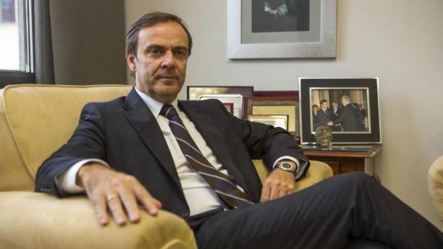 El presidente de la Audiencia Nacional, José Ramón Navarro Miranda,
