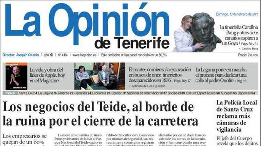 De las portadas del día (13/02/2011) #5