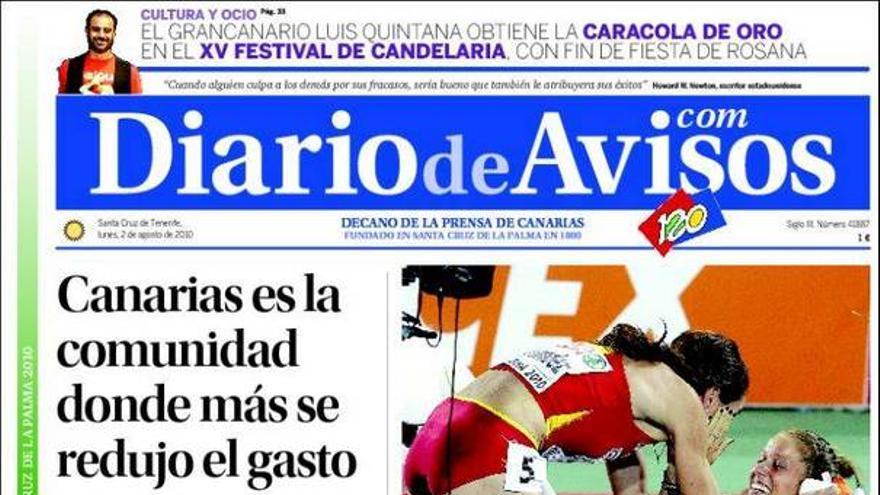De las portadas del día (02/08/2010) #4