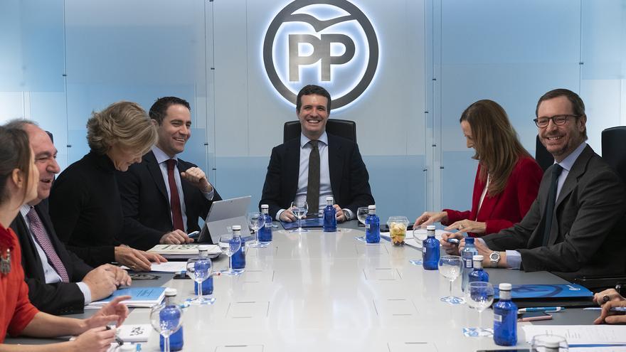 Reunión del Comité de Dirección del PP del pasado lunes.