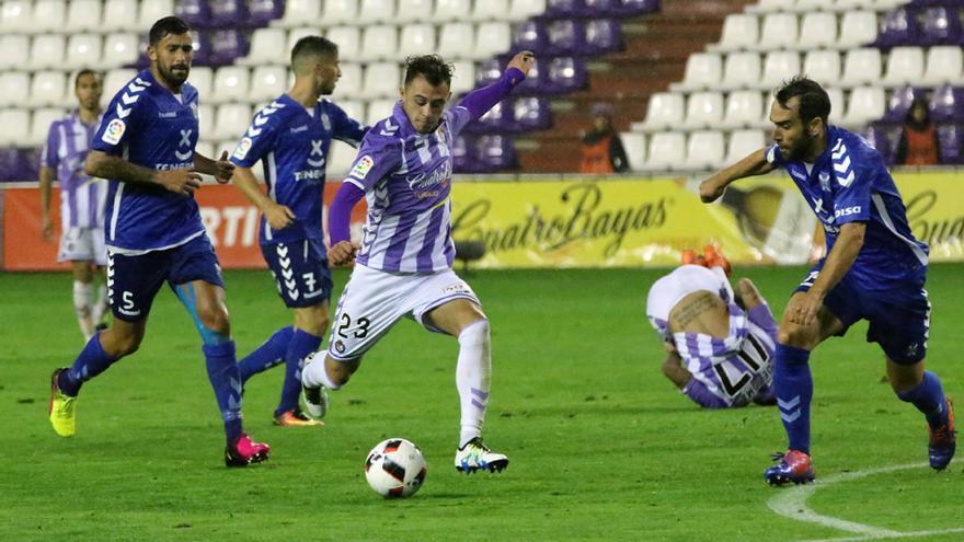 Encuentro entre el Real Valladolid y el CD Tenerife