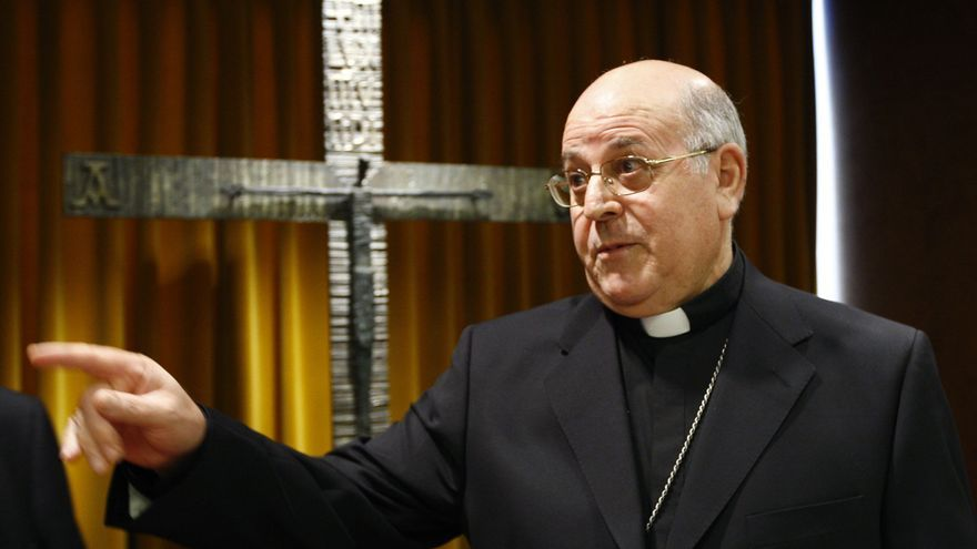 Ricardo Blázquez, momentos antes del inicio de la Asamblea Plenaria de prelados españoles en 2007. EFE/J.J. Guillén