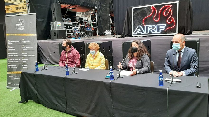 Presentación de 'Azkena Rock Special Edition 2021'