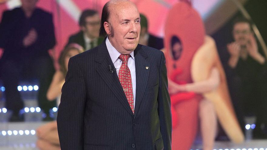 Chiquito de la Calzada en una de sus intervenciones televisivas. (Twitter).